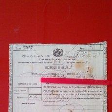 Documentos antiguos: DERECHOS REALES. Lote 60035031
