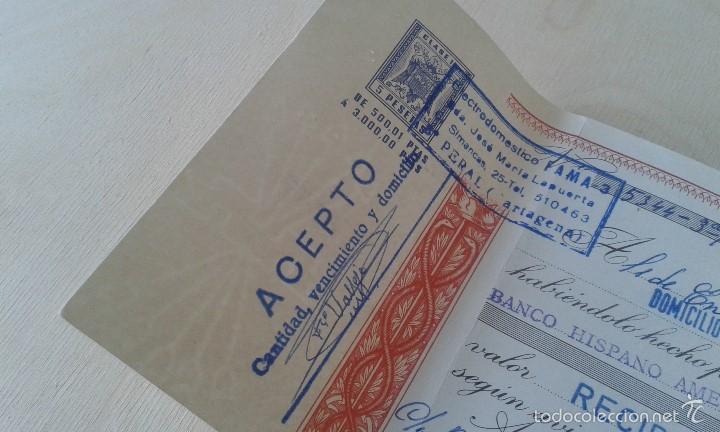 Documentos antiguos: Antiguo Impreso -- Impuesto del Estado de 5 ptas -- Cartagena 1976 -- - Foto 2 - 60643687