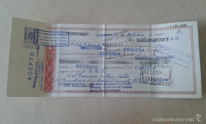 ANTIGUO IMPRESO -- IMPUESTO DEL ESTADO DE 5 PTAS -- CARTAGENA 1976 -- (Coleccionismo - Documentos - Otros documentos)