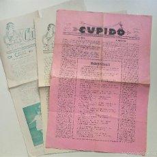Documentos antiguos: CURIOSOS PERIÓDICOS QUE EDITARON LA FAMILIA LEWIN AGUINAGALDE POR CADA MATRIMONIO CELEBRADO AÑOS 40. Lote 60873815