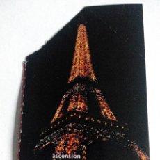 Documentos antiguos: ENTRADA TORRE EIFFEL PARIS FRANCIA AÑO 2004. Lote 60949943