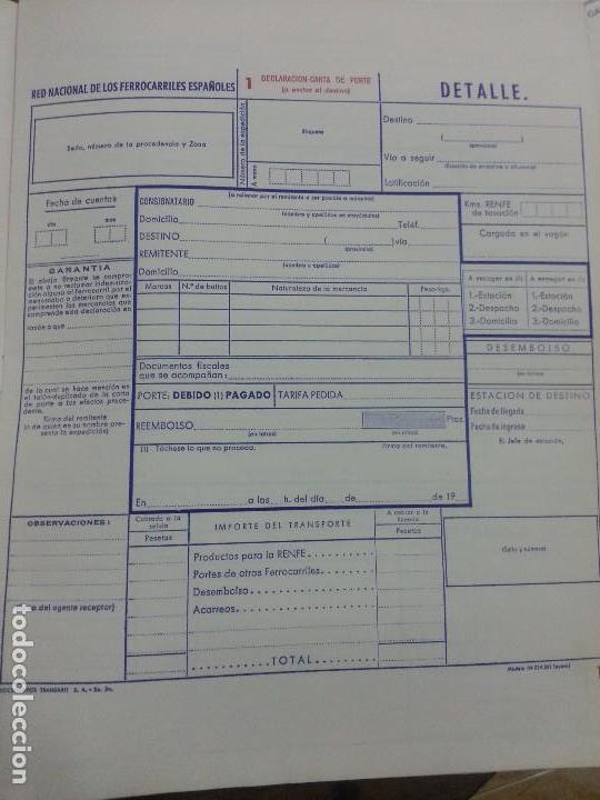 Documentos antiguos: RENFE 1969 Circular encuadernada NUEVA DOCUMENTACIÓN PARA FACTURACIÓN - Foto 4 - 61583212