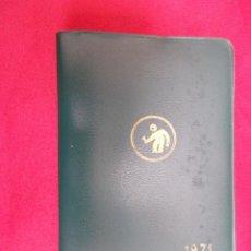 Documentos antiguos: AGENDA. CATALOGO DE PRODUCTOS VALENTINE. 1971. SIN USO. Lote 61692644