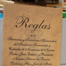 Documentos antiguos: SEMANA SANTA SEVILLA, REGLAS HERMANDAD DEL POLIGONO SAN PABLO, 2011. Lote 61969332