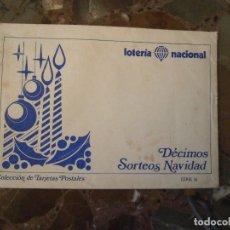 Documentos antiguos: LOTE DE 2 ANTIGUOS SOBRES DE LOTERIA NACIONAL. Lote 62456032