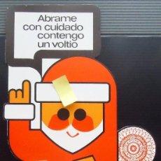 Documentos antigos: DISPLAY PUBLICIDAD VINTAGE PHILIPS ELECTRONICO RADIO ORTEGA PAPA NOEL ONDAS PERIODISMO BILBAO EIBAR. Lote 62774900