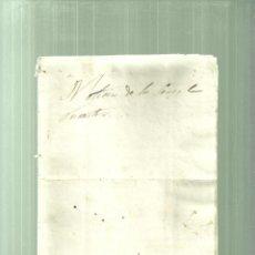Documentos antiguos: 1362.-NOTICIA DE CENSALS FORASTERS DE CASTELLVELL-ALMOSTER-ALCOVER-PONT ARMENTERA-ALEIXAR. Lote 63127876