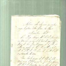 Documentos antiguos: 1362.- PONT D`ARMENTERA-VALLS-CABRA-CENSALS-HIPOTEQUES-. Lote 63919667