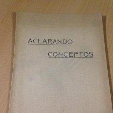 Documentos antiguos: DOCUMENTO FIRMADO POR ENRIQUE ALCARAZ INGENIEROS AGRONOMOS 1926. Lote 65773246