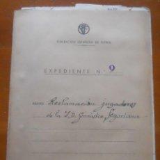 Documentos antiguos: FEDERACIÓN FUTBOL, 1950, SEGOVIA RECLAMACIÓN DE SALARIOS A LA SD GIMNÁSTICA SEGOVIANA. Lote 67167901