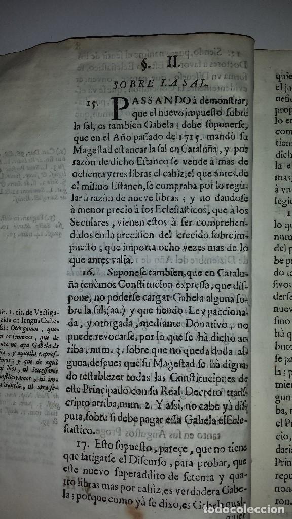 Documentos antiguos: COPIA MEMORIAL DE JOSEPH CASANOVAS 1716 - Foto 4 - 67337105