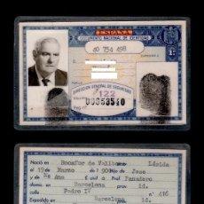 Documentos antiguos: DNI - 40.754.498 - C10-2 - CARNET DE IDENTIDAD DE EXPEDIDO EN BARCELONA EL 22-MAYO-1973 PERTENECI. Lote 68642673