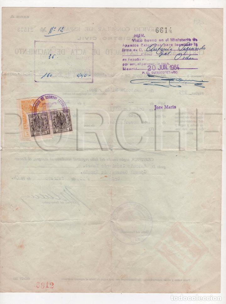 consulado general de españa en orán-certificaci - Comprar en ...