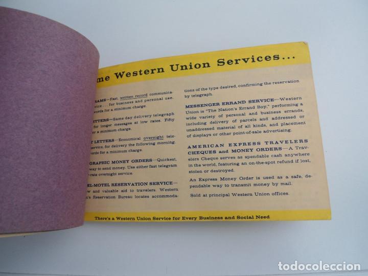 Western union telegram blanks con publicidad comprar en