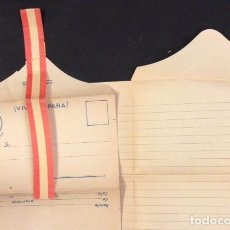 Documentos antiguos: PAPEL DE CARTA DE FRANCO EN BLANCO,. Lote 71554671
