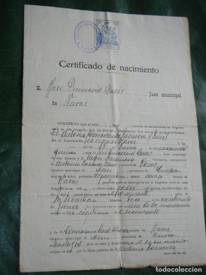 Famoso Certificado De Nacimiento Wa Viñeta - Cómo conseguir mi ...