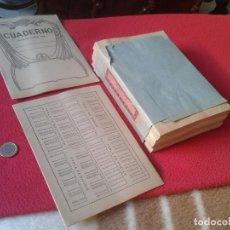 Documentos antiguos: LOTE PACK DE 50 CUADERNOS LIBRETAS ANTIGUAS DE 1 RAYA CON PRECINTO. CUADERNO LIBRETA NOTEBOOKS VER . Lote 73678719