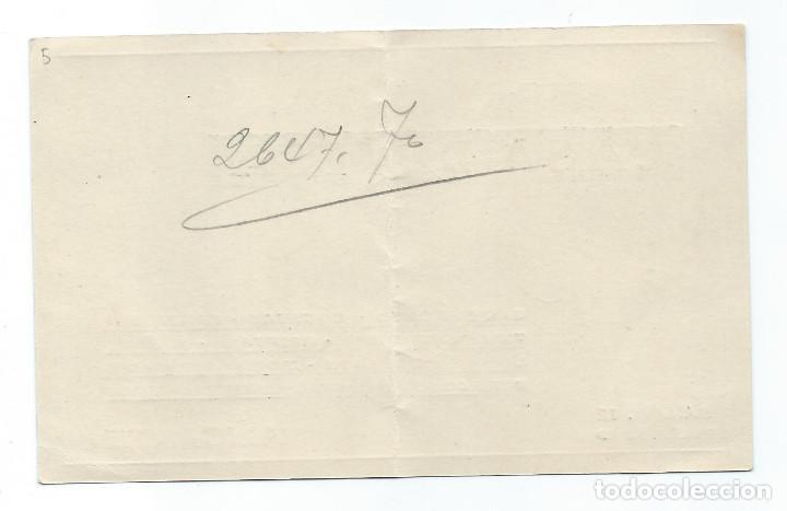 Documentos antiguos: TARJETA COMERCIAL. CASA DEVESA. BAILÉN, 12. ALICANTE. - Foto 2 - 74973387