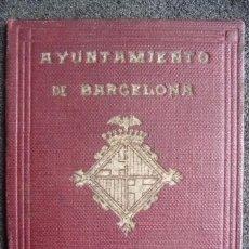 Documentos antiguos: (JX-170211) CARNET DE CONDUCTOR DE AUTO - TAXI , BARCELONA , AÑO 1928 .. Lote 75124611