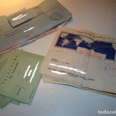 Documentos antiguos: GRAN LOTE DE ANTIGUOS TELEGRAMAS . Lote 75270583