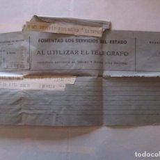 Documentos antiguos: TELEGRAMA MADRID-BARCELONA. Lote 75912903