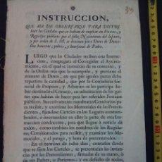 Documentos antiguos: DOCUMENTO IMPRESO DE 1771. Lote 76192695