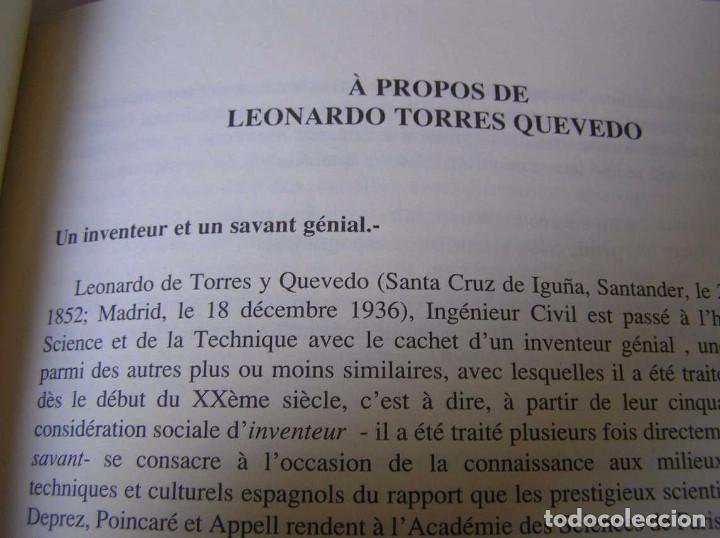 Documentos antiguos: L. TORRES QUEVEDO ENSAYOS SOBRE AUTOMÁTICA. EL ARITMÓMETRO ELECTROMECÁNICO - INTEMAC 1996 - Foto 16 - 76235959