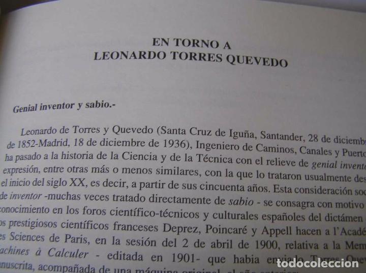 Documentos antiguos: L. TORRES QUEVEDO ENSAYOS SOBRE AUTOMÁTICA. EL ARITMÓMETRO ELECTROMECÁNICO - INTEMAC 1996 - Foto 17 - 76235959