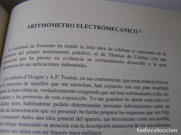 Documentos antiguos: L. TORRES QUEVEDO ENSAYOS SOBRE AUTOMÁTICA. EL ARITMÓMETRO ELECTROMECÁNICO - INTEMAC 1996 - Foto 47 - 76235959