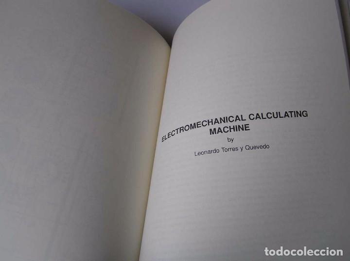Documentos antiguos: L. TORRES QUEVEDO ENSAYOS SOBRE AUTOMÁTICA. EL ARITMÓMETRO ELECTROMECÁNICO - INTEMAC 1996 - Foto 57 - 76235959