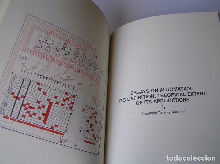 Documentos antiguos: L. TORRES QUEVEDO ENSAYOS SOBRE AUTOMÁTICA. EL ARITMÓMETRO ELECTROMECÁNICO - INTEMAC 1996 - Foto 61 - 76235959