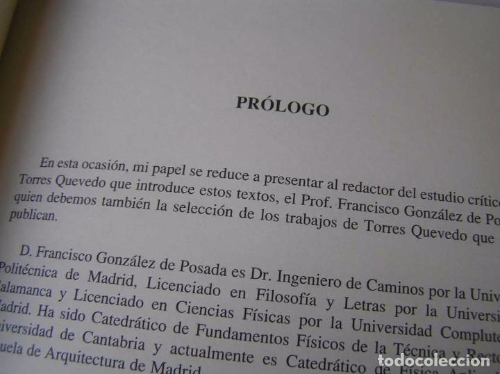 Documentos antiguos: L. TORRES QUEVEDO ENSAYOS SOBRE AUTOMÁTICA. EL ARITMÓMETRO ELECTROMECÁNICO - INTEMAC 1996 - Foto 67 - 76235959