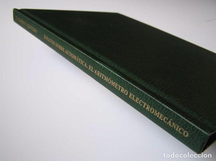 Documentos antiguos: L. TORRES QUEVEDO ENSAYOS SOBRE AUTOMÁTICA. EL ARITMÓMETRO ELECTROMECÁNICO - INTEMAC 1996 - Foto 79 - 76235959