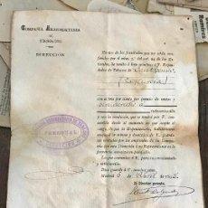 Documentos antiguos: NOMBRAMIENTO DE EXPENDEDOR DE TABACOS DE MURCIA 1895 - COMPAÑIA ARRENDATARIA DE TABACOS. Lote 76895147