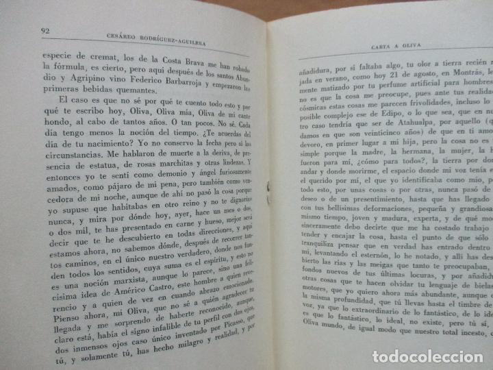 Documentos antiguos: CARTA A OLIVA. CESÁREO RODRÍGUEZ-AGUILERA. SOBRETIRO DE LOS PAPELES DE SON ARMADANS. 1971. DEDICADO. - Foto 4 - 77310009