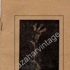 Documentos antiguos: SEVILLA,1882,DEVOTO QUINARIO JESUS DE LA SENTENCIA,HDAD.DE LA MACARENA,30 PAGS.RARISIMO. Lote 78068393