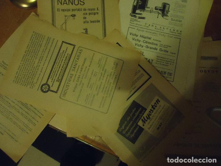 GRAN COLECCION PUBLICIDAD ANUNCIOS PUBLICITARIOS AÑOS 30 FARMACIA MEDICINA FARMACIA MEDICAMENTOS (Coleccionismo - Documentos - Otros documentos)