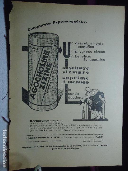 Documentos antiguos: GRAN COLECCION PUBLICIDAD ANUNCIOS PUBLICITARIOS AÑOS 30 FARMACIA MEDICINA FARMACIA MEDICAMENTOS - Foto 3 - 82491196