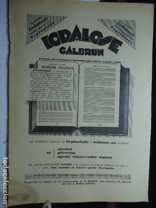 Documentos antiguos: GRAN COLECCION PUBLICIDAD ANUNCIOS PUBLICITARIOS AÑOS 30 FARMACIA MEDICINA FARMACIA MEDICAMENTOS - Foto 7 - 82491196