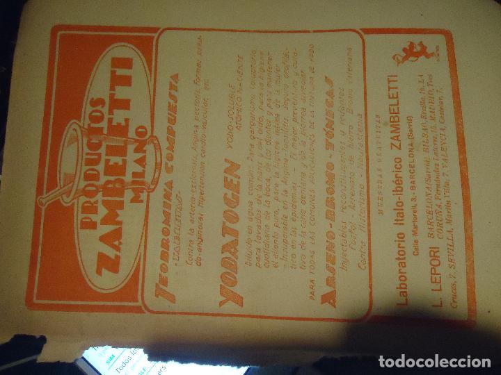 Documentos antiguos: GRAN COLECCION PUBLICIDAD ANUNCIOS PUBLICITARIOS AÑOS 30 FARMACIA MEDICINA FARMACIA MEDICAMENTOS - Foto 11 - 82491196