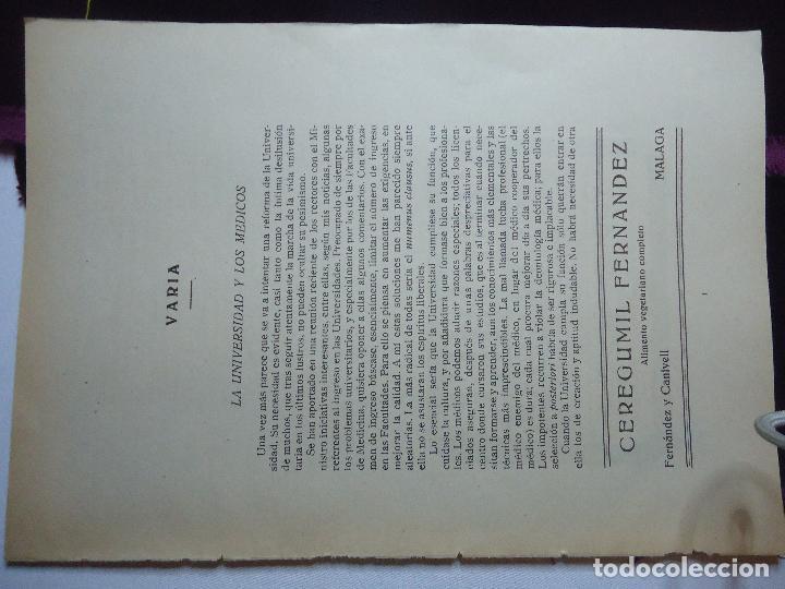 Documentos antiguos: GRAN COLECCION PUBLICIDAD ANUNCIOS PUBLICITARIOS AÑOS 30 FARMACIA MEDICINA FARMACIA MEDICAMENTOS - Foto 13 - 82491196
