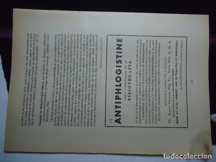 Documentos antiguos: GRAN COLECCION PUBLICIDAD ANUNCIOS PUBLICITARIOS AÑOS 30 FARMACIA MEDICINA FARMACIA MEDICAMENTOS - Foto 30 - 82491196