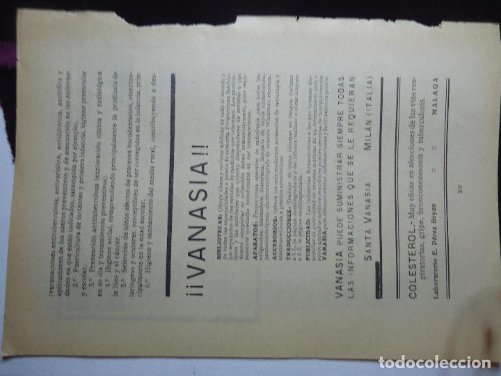 Documentos antiguos: GRAN COLECCION PUBLICIDAD ANUNCIOS PUBLICITARIOS AÑOS 30 FARMACIA MEDICINA FARMACIA MEDICAMENTOS - Foto 31 - 82491196