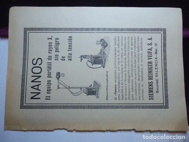Documentos antiguos: GRAN COLECCION PUBLICIDAD ANUNCIOS PUBLICITARIOS AÑOS 30 FARMACIA MEDICINA FARMACIA MEDICAMENTOS - Foto 41 - 82491196