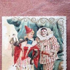 Documentos antiguos: PROGRAMA DE BAILE CARNAVAL 1895 - LICEO DE MATANZAS. Lote 78464049