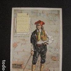 Documentos antiguos: INVITACION BAILE SIGLO XIX - NOVA SAN ISIDRO -AÑO 1876- GRACIA -VER FOTOS-(V-9537). Lote 78896109