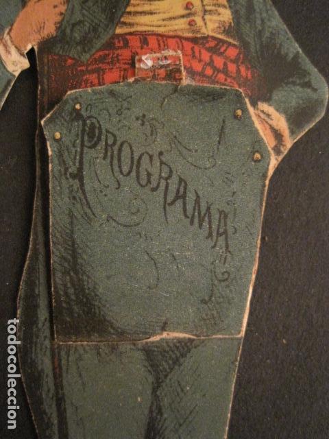 Documentos antiguos: INVITACION BAILE SIGLO XIX - TROQUELADO -VER FOTOS-(V-9569) - Foto 2 - 78908381