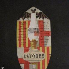 Documentos antiguos: INVITACION BAILE SIGLO XIX -TROQUELADO- LATORRE -VER FOTOS-(V-9572). Lote 78925601