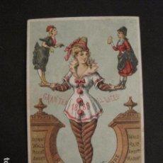 Documentos antiguos: INVITACION BAILE SIGLO XIX - LICEO - LATORRE - AÑO 1880- -VER FOTOS-(V-9573). Lote 78927465