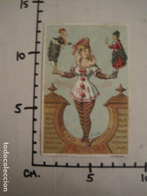 Documentos antiguos: INVITACION BAILE SIGLO XIX - LICEO - LATORRE - AÑO 1880- -VER FOTOS-(V-9573) - Foto 4 - 78927465